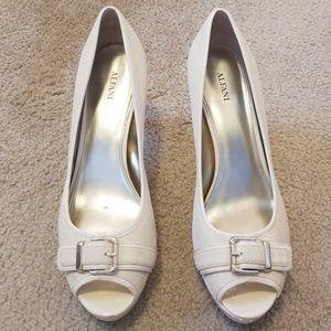 Alfani peep-toe heels